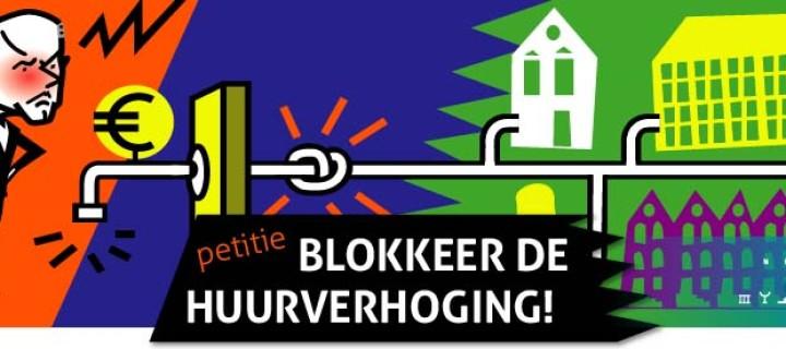 Blokkeer de huurverhoging